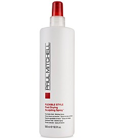 Flexible Style Fast Drying Sculpting Spray, 16.9-oz., from PUREBEAUTY Salon & Spa