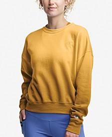 Plus Size Ombré Fleece Sweatshirt