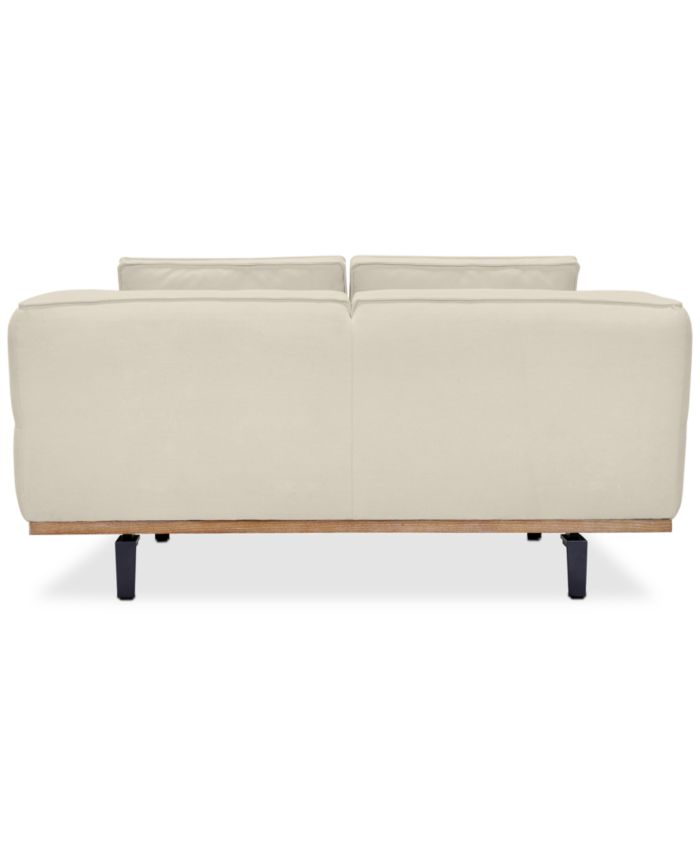 """Furniture Aubreeze 65"""" Fabric Loveseat, Created for Macy's & Reviews - Furniture - Macy's"""