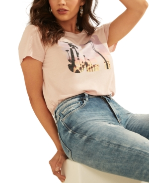 Guess SUNSET SHADOW GRAPHIC T-SHIRT