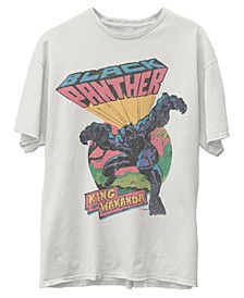 Men's Black Panther Short Sleeve Tee Shirt