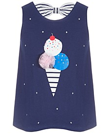 Baby Girls Ice Cream Cotton Tunic, Created for Macy's