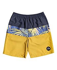 """Big Boys Sub Tropics 17"""" Swim Shorts"""