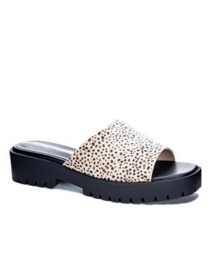 Women's Respect Lug Sole Slide Flat Sandals Women's Shoes