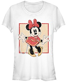 Juniors Disney Mickey Classic Chinese Minnie T-Shirt