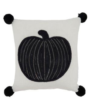 """Saro Lifestyle Pillows THROW PILLOW, 12"""" X 12"""""""