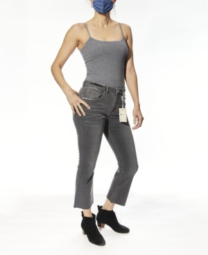 Women's High Rise Cropped Flare Jeans
