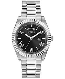 Men's Stainless Steel Bracelet Watch 42mm
