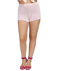 Cotton Sweater Shorts