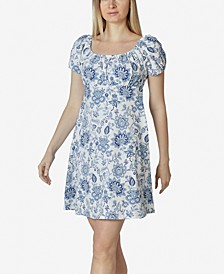 Juniors' Emma A-Line Dress