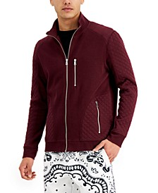 Men's Quilted Rib Knit Jacket, Created for Macy's