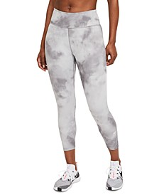 One Women's Sky-Dyed Fitted Cropped Tights