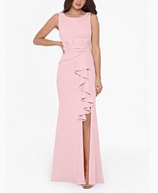 Ruffle-Detail Gown