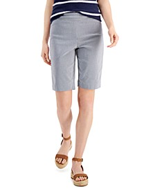 Striped Bermuda Shorts, Created for Macy's
