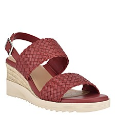 Martha Stewart x Women's Zuri Wedge Sandals