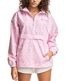 Women's Packable Half-Zip Windbreaker
