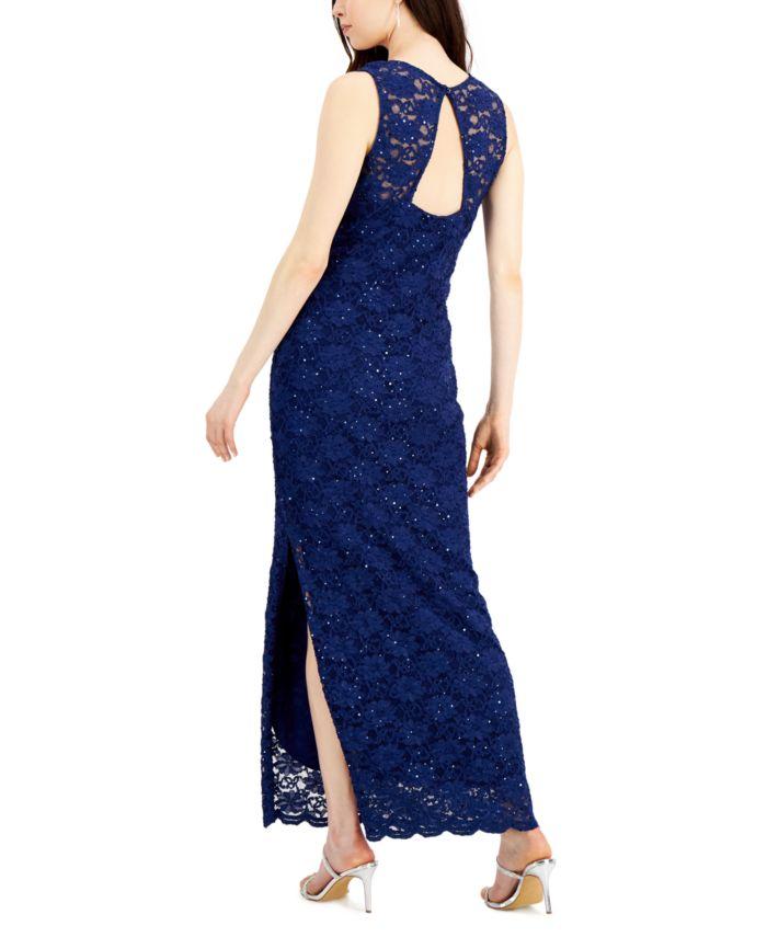 Connected Sequin Lace Gown & Reviews - Dresses - Women - Macy's