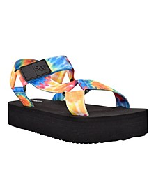 Women's Camping Platform Retro Sandals
