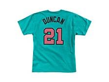 Men's San Antonio Spurs Reload Player T-Shirt Tim Duncan