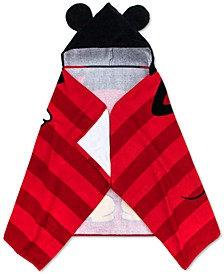 Mickey Mouse Cotton Stripe Hooded Towel