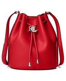 Andie Medium Leather Drawstring Bag