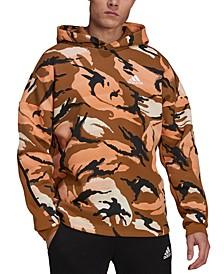 Men's Desert Camo Printed Hoodie
