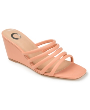 Journee Collection Wedges WOMEN'S RIZIE WEDGE PUMPS WOMEN'S SHOES