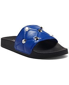 Women's Peymin Pool Slides, Created for Macy's