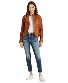 Petite High-Rise Skinny Ankle Jeans