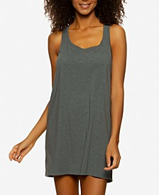 Organic Cotton Racerback Chemise Nightgown
