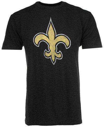 '47 Brand Men's New Orleans Saints Logo Scrum T-Shirt