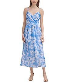 Tie-Dyed Midi Dress