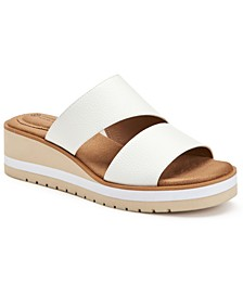 Ryerr Wedge Sandals, Created for Macy's