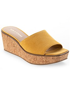 Charlottee Wedge Sandals, Created for Macy's