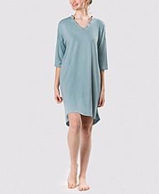 Women's Ultra Soft Caribbean Flowers Sleepshirt Nightgown