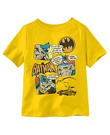 Batman Wisdom Comic Book Short Sleeve Toddler Boys T-shirt
