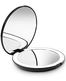 """Lumi 5"""" Compact Mirror with LED Lights"""