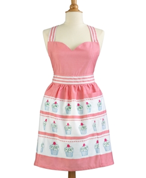 1950s House Dresses and Aprons History Martha Stewart Collection Cupcake Apron $21.99 AT vintagedancer.com