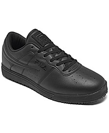 Men's Vulc 13 Low Slip-Resistant Work Sneakers from Finish Line