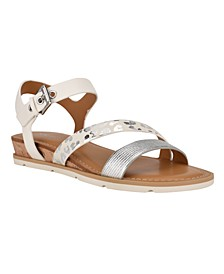 Women's Drama Asymmetrical Strappy Sandals