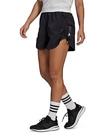 Women's PrimeBlue Bungee-Hem Shorts