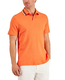 Men's Supima® Blend Tipped Polo, Created for Macy's