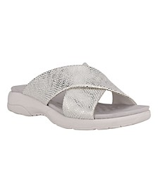 Women's Taite Double Strap Slide Sandals