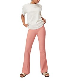 Women's Leni Flare Rib Trousers