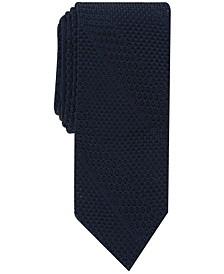Men's Knit Stripe Slim Tie, Created for Macy's