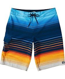 Men's All Day Stripe Pro Board Short