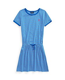 Big Girls Striped Cotton Jersey T-shirt Dress