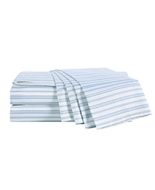 300 Thread Count 6 Pc. Sheet Set with Silvadur Antimicrobial Treatment, Full