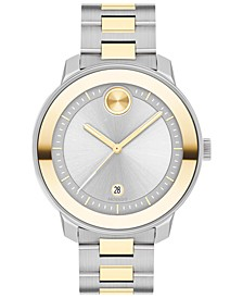 Women's Swiss Bold Verso Two-Tone Stainless Steel Bracelet Watch 38mm