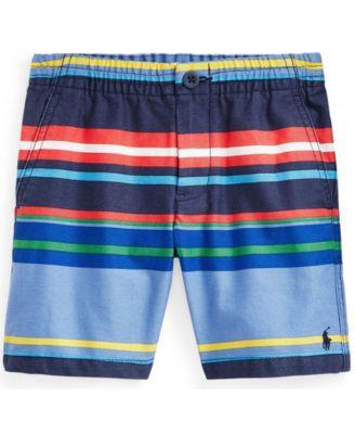 폴로 랄프로렌 Polo Ralph Lauren Little Boys Polo Prepster Chino Shorts,Bermuda Stripe